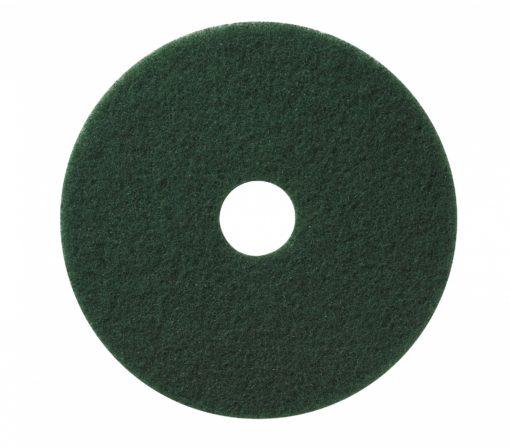 Vloerpad 13 inch kleur groen. Voor het schrobben van de vloer