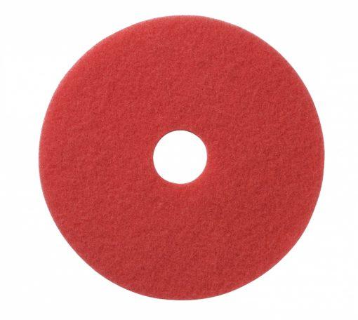 Vloerpad 14 inch kleur rood. Voor het polijsten van de vloer