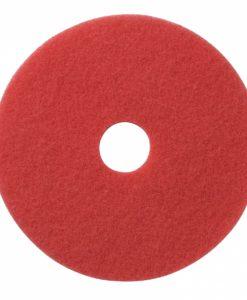 Vloerpad 16 inch kleur rood. Voor het polijsten van de vloer