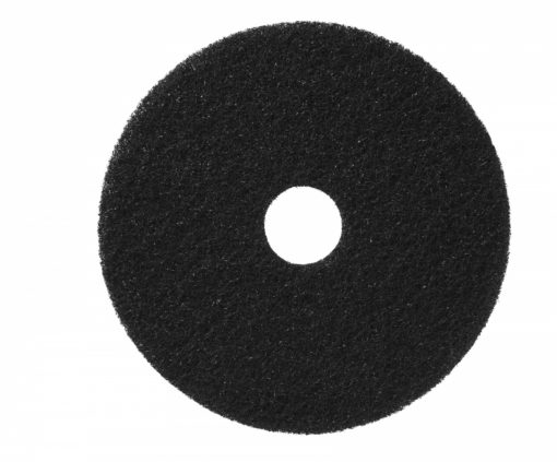 Vloerpad 16 inch kleur zwart. Zwaar vervuilde vloer reiniger