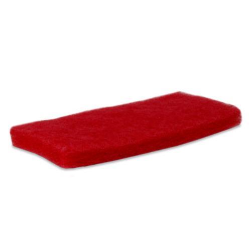 Vloerpad doodle bug rood.