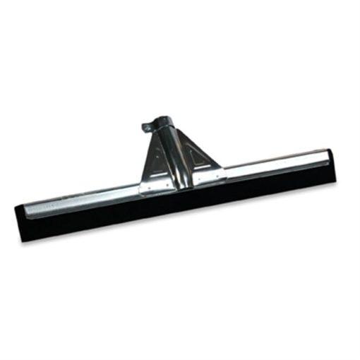 Vloertrekker zwart, versterkt, 45cm.