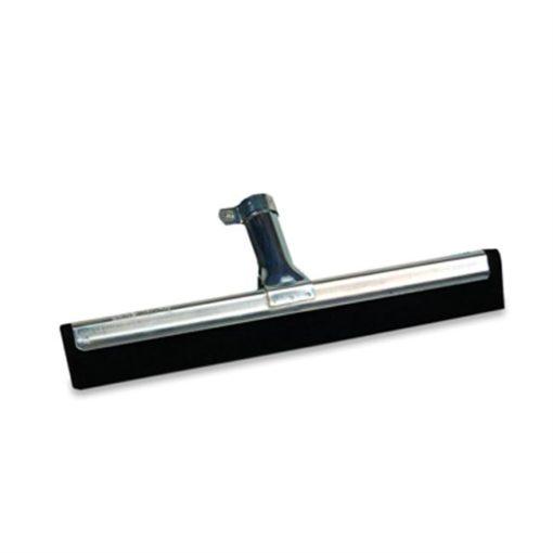 Vloertrekker zwart,  waterrand, 35cm.