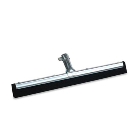 Vloertrekker zwart, waterrand, 55cm.