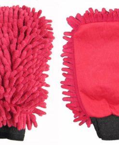 washandschoen-microvezel-rasta-rood